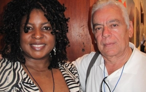 With Poet from Honduras