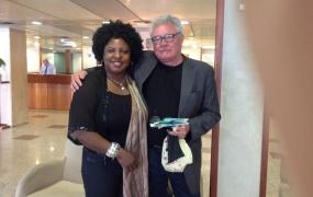 With German poet Gerhard Falkner